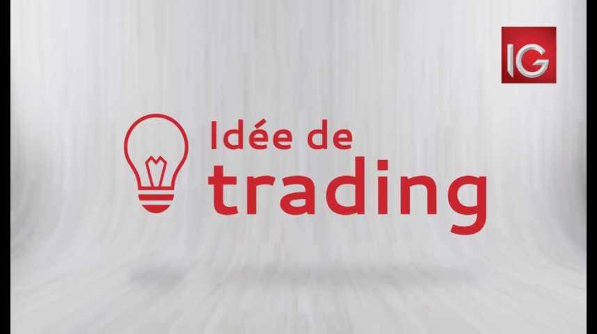 Illustration pour la vidéo Idée de trading du lundi 7 août 2017
