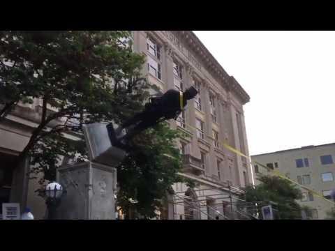 Charlottesville : ces statues de la discorde