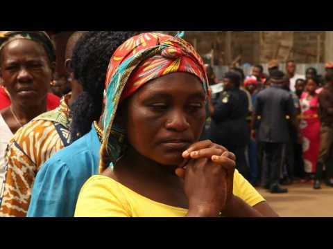 Sierra Leone : minute de silence au coeur du centre-ville de Freetown