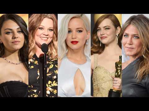 Top 5 des actrices les mieux payées en 2017