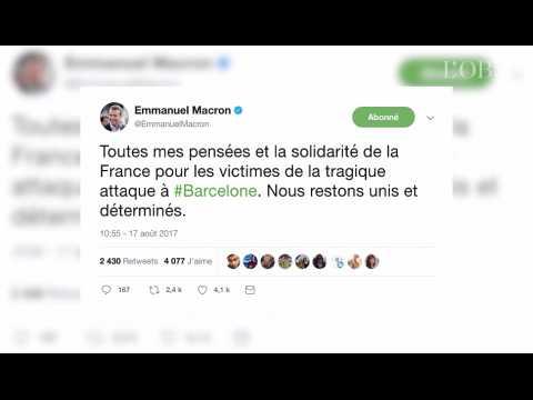 Trump, Macron, Valls... Et Dupont-Aignan : les réactions des politiques à l'attentat de Barcelone