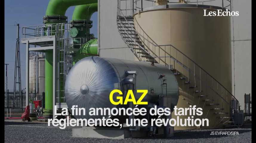 Illustration pour la vidéo Gaz : la fin annoncée des tarifs réglementés, une révolution