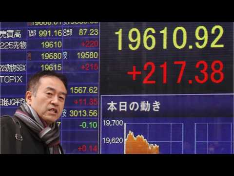 Asia Shares Hit 14-Month Lows