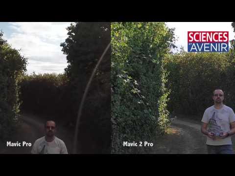 Comparaison de la qualité vidéo entre DJI Mavic Pro et Mavic 2 Pro