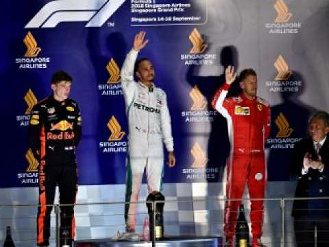 Classements du Grand Prix F1 de Singapour 2018 - Infographie