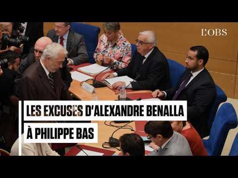 Benalla débute son audition au Sénat par un mea culpa face à Philippe Bas