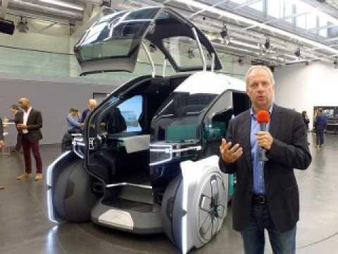 Présentation du Renault EZ Pro Concept