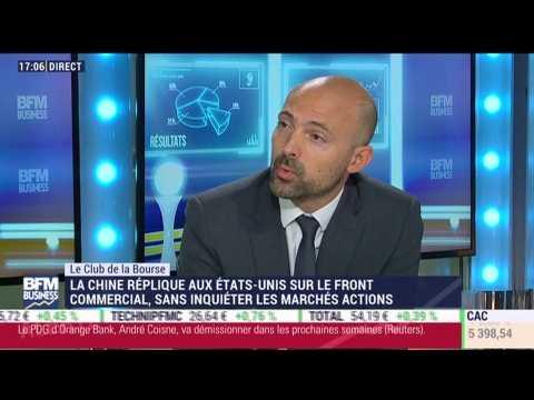 Le Club de la Bourse: Florent Delorme, Hervé Goulletquer et Vincent Guenzi - 19/09