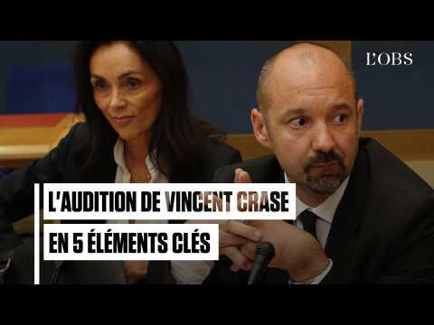 Les 5 éléments clés de l'audition de Vincent Crase au Sénat