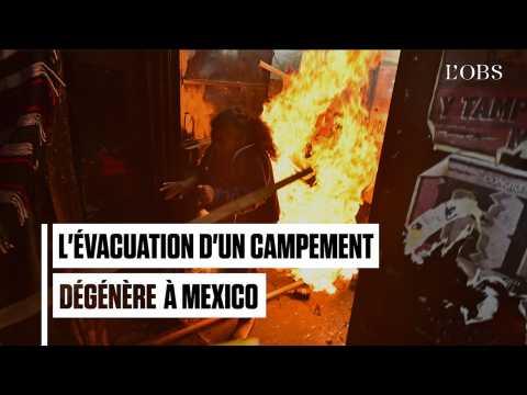 Mexique : L'évacuation d'un campement indigène dégénère