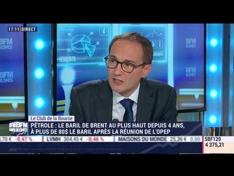 Le Club de la Bourse: Bertrand Puiffe, Véronique Riches-Flores et Wilfrid Galand - 24/09