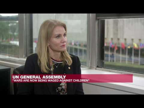 Save the Children CEO: 'Wars today are targeting children'