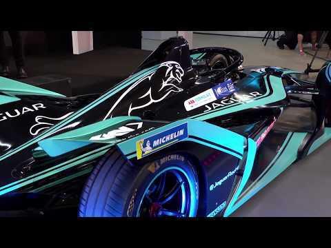 Panasonic Jaguar Racing I-TYPE 3 Reveal at Design Museum