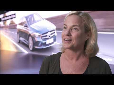 World Premiere of the new Mercedes-Benz B-Class Britta Seeger