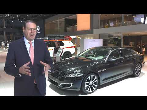Jaguar Land Rover at the Paris AutoMondial 2018 - Interview Hanno Kirner