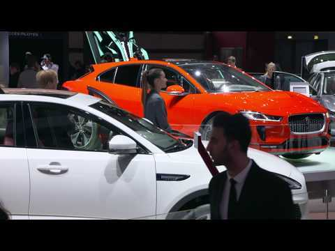 Jaguar Land Rover at the Paris AutoMondial 2018