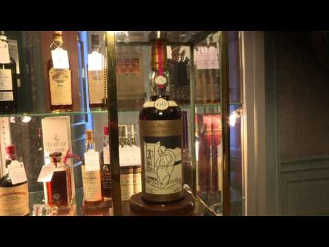 Rare bottle of Scotch whisky fetches record price