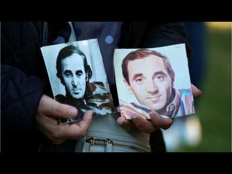 Macron Pays Tribute Singer Charles Aznavour Laid To Rest In France