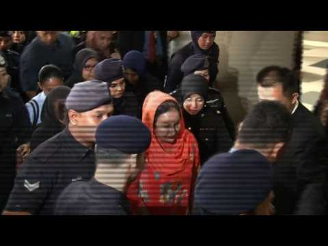 Wife of ex-Malaysian PM arrives at court over corruption scandal