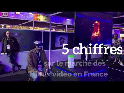 5 chiffres sur le marché desjeux vidéo en France