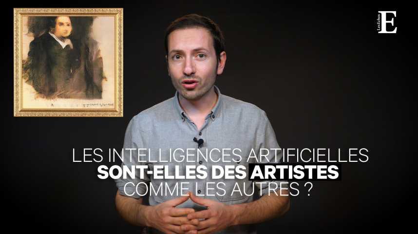 Illustration pour la vidéo  Les intelligences artificielles sont-elles des artistes comme les autres ?