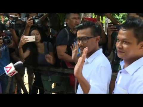 Myanmar journalists given bail but case continues