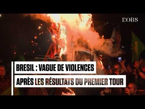 Brésil : vague de violences après le succès de Bolsonaro au premier tour de l'élection