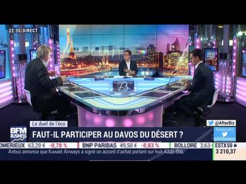 """Le duel de l'éco: faut-il participer au """"Davos du désert"""" ? - 15/10"""