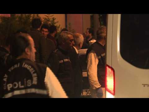 Turkish police search Saudi consulate in Istanbul