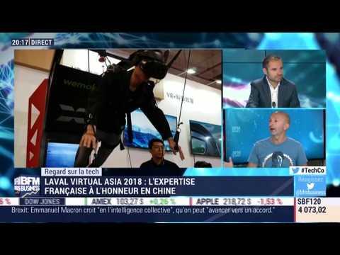 Le Regard sur la Tech: l'expertise française à l'honneur en Chine pendant le Laval Virtual Asia 2018 - 15/10