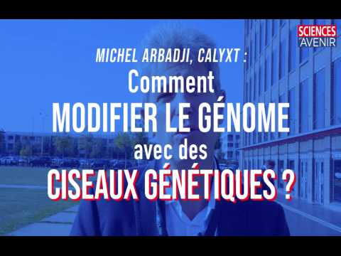 Comment éditer un génome avec des ciseaux génétiques ? Explications de Michel Arbadji (Calyxt)