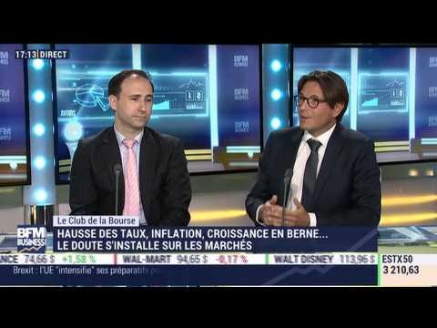 Le Club de la Bourse: Gilles Guibout, Frédéric Andrès et Stéphane Barbier de la Serre - 15/10