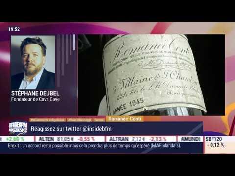 Les insiders (3/3): Romanée-Conti, une bouteille de 1945 adjugée à 558 000 dollars ! - 15/10