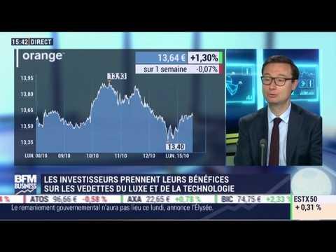 Les tendances sur les marchés: Les investisseurs prennent leurs bénéfices sur les vedettes du luxe et de la technologie - 15/10