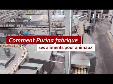 Comment Purina fabrique ses aliments pour animaux