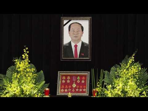 Vietnam bids final farewell to president before burial