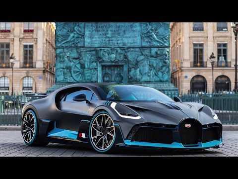 The new Bugatti Divo in Paris