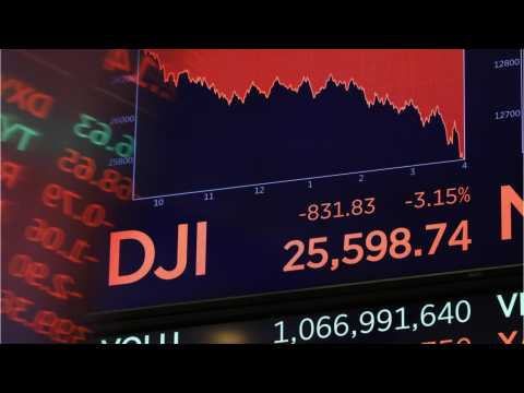 The Dow Jones Sinks More Than 200 Points