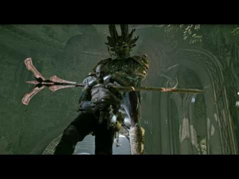 God of War NEW GAME PLUS: Dark Elf King Boss Fight