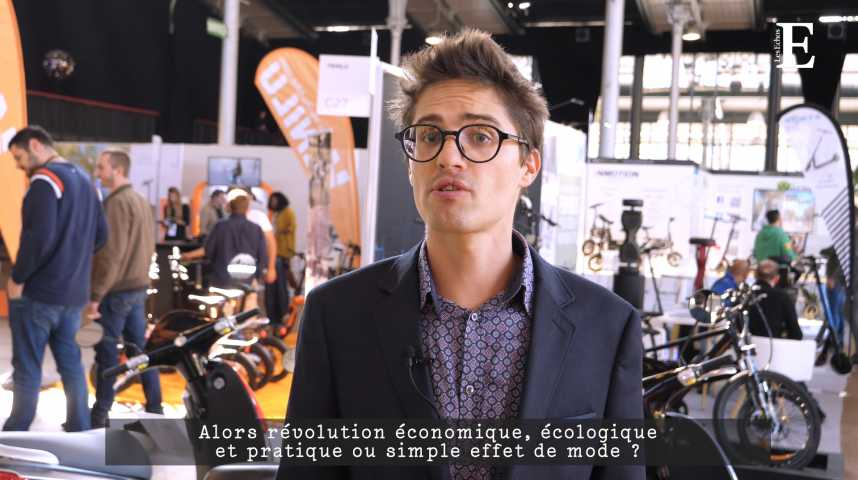 Illustration pour la vidéo Trottinettes, scooters, taxis volants : la micro-mobilité en pleine révolution