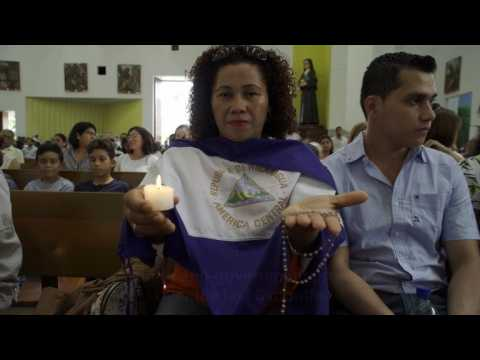 Nicaraguans hold mass in memory of killed, imprisoned protesters
