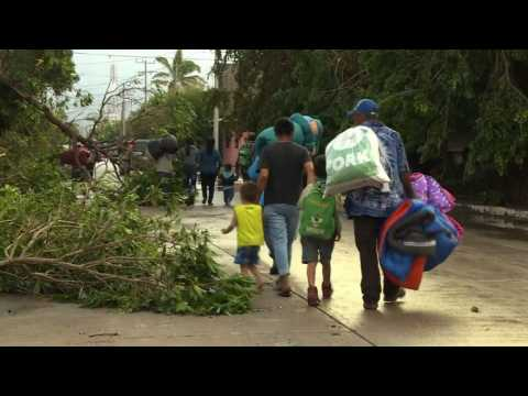 Mexican residents deal with damage after Hurricane Willa (2)
