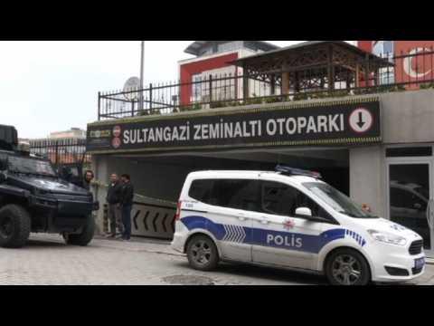 Turkish forensics investigate abandoned Saudi consulate car