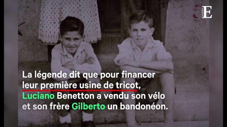 Illustration pour la vidéo Mort de Gilberto Benetton, l'homme qui a métamorphosé le groupe