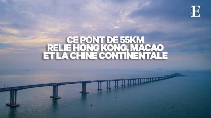 Illustration pour la vidéo Xi Jinping inaugure le pont de tous les records