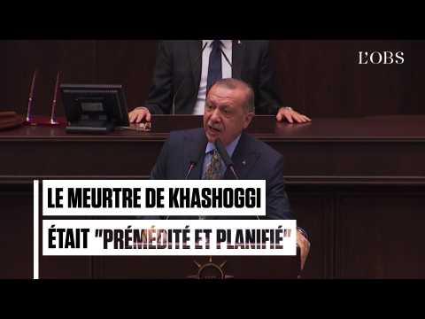 Pour Erdogan, le meurtre de Jamal Khashoggi était prémédité