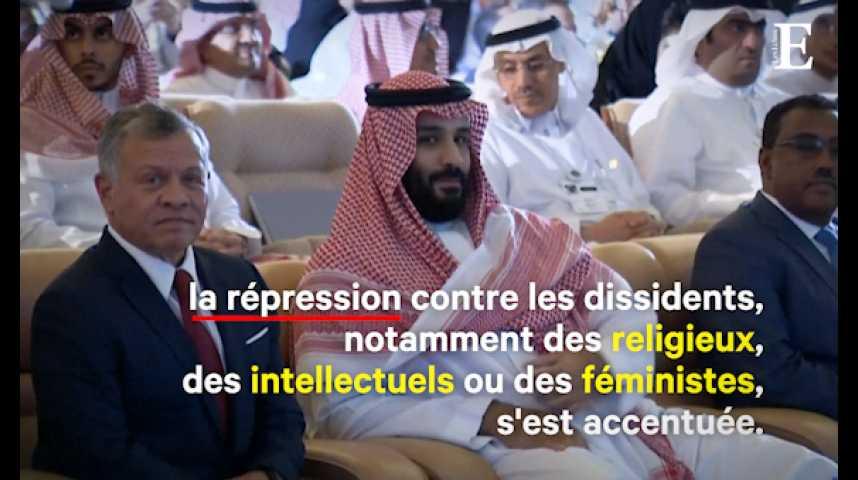 """Illustration pour la vidéo Arabie Saoudite : mystères, """"bavures"""" et controverses depuis l'avènement de """"MBS"""""""