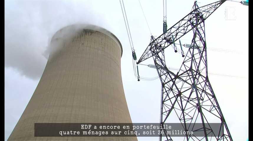 Illustration pour la vidéo EDF, colosse aux pieds d'argiles