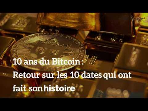 10 ans du Bitcoin : retour sur les 10 dates marquantes