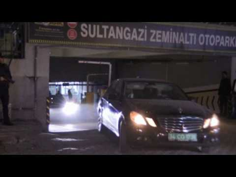 Turkish forensic police pick up abandoned Saudi diplomatic car